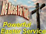 He Rose For You Easter Lesson